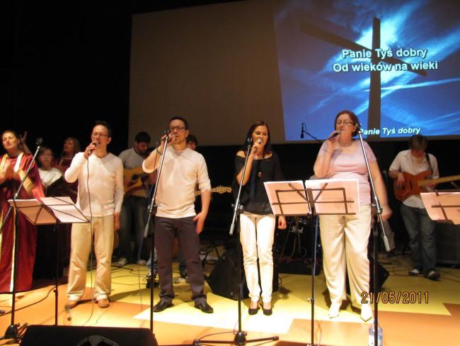 Kościół Zielonoświątkowy w Miastku Koncert 21 maja 2011 r.